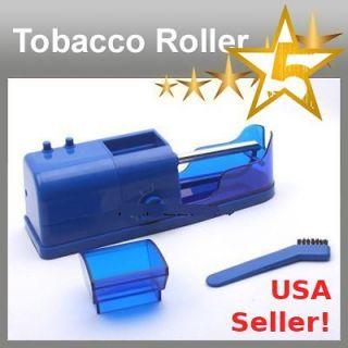 Cigarette Tobacco Rolling Roller Injector Automatic Maker Machine 110V