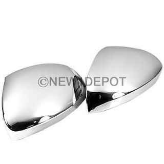 TRIPLE CHROME SIDE MIRROR COVER TRIMS KITS FOR PEUGEOT 2008 2011