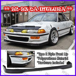 Integra Type R Front Bumper Lip Kit Coupe 2drs DA Honda Acura JDM PU