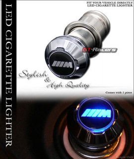 12V CAR CHARGER OUTPUT BMW M POWER LOGO EMBLEM (Fits BMW X5 2001