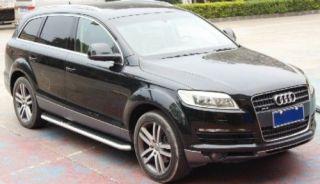 AUDI Q7 SUV DOOR RUNNING BOARDS SIDE STEPS NERF BARS (Fits Audi Q7