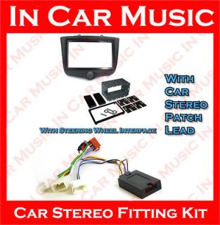 Toyota Yaris Double Din Fascia Pioneer Steering Wheel Interface Car