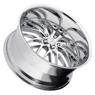 22 MRR GT1 CHROME Wheels Rims Fit BMW ALPINA B7 & M3 2008+