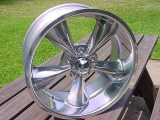 STREETER POLISHED CHEVY GMC TRUCK IMPALA CAPRICE ROADMASTER WHEEL