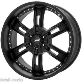 CHEVY Tahoe GM Silverado 1500 Truck BLACK RIMS WHEELS (Fits Chevrolet