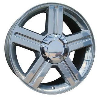 Set 4 18 Chevy Trailblazer Polished Alloy Wheels NEW