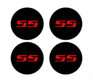 Chevy Silverado SS rim wheel center cap overlay vinyl decals 350