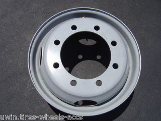 STEEL GRAY 19.5 BY 6.75 8 LUG CHEVY GMC 2010 2011 2012 WHEEL RIM