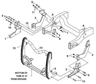 Meyer Products Express Plow Mounting Kit Dodge Truck # 17148