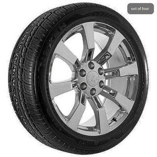 22 Inch Chevy Chevrolet Chrome Silverado Suburban Tahoe Rims Wheels