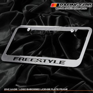CHROME LICENSE PLATE FRAME FORD TAURUS FREESTYLE 05 07