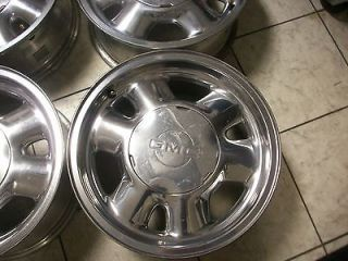16 GMC POLISHED YUKON SIERRA OEM 1500 FACTORY WHEELS RIMS