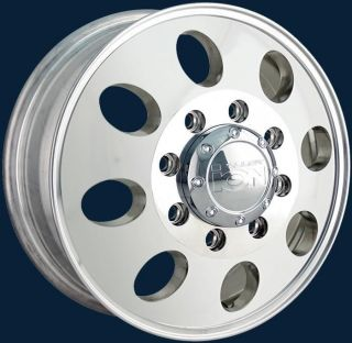 Style 167 Dually Polished Finish New Set of Wheels 16x6 Chevy / Ford