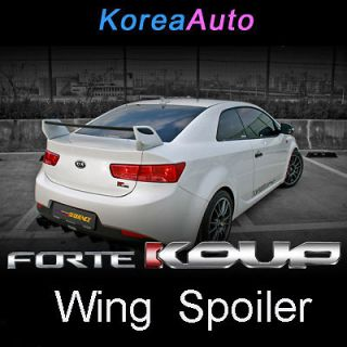 Kia Forte Koup Rear Trunk Wing Spoiler Unpainted for 09 10 11 Cerato