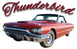 Ford Thunderbird   T Bird Hot Rod Vintage Antique Classic Car