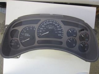 05 06 GMC Yukon Sierra Denali Instrument Cluster Speedometer 144K OEM