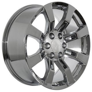 24 inch GMC truck SUV 2009 Yukon Denali XL Sierra chrome wheels rims