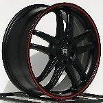 18 Inch Wheels Rims Black Honda Accord Civic Element Nissan Altima