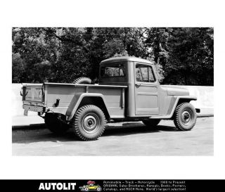 1954 Jeep Pickup Truck Factory Photo