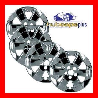 PRIUS 15 CHROME WHEEL SKINS HUBCAPS COVERS HUB CAPS