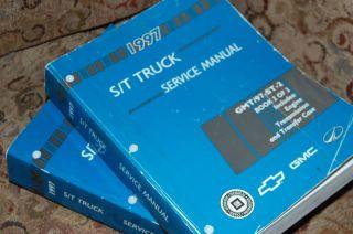 1997 Chevy Truck ST S/T Blazer Jimmy Service Manual Set Cheap shipping