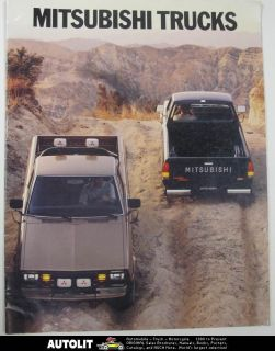 1984 Mitsubishi Mighty Max SP SPX Turbo Diesel & Gas Pickup Truck