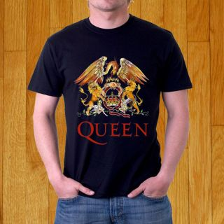 QUEEN British Rock Vintage Logo Freddie Mercury T SHIRT Size S 3XL