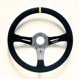SABELT RAC Racing Steering Wheel Suede 350mm