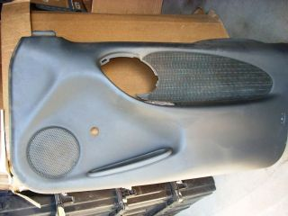 PONTIAC GRAND AM COUPE RH DOOR PANEL   BLACK
