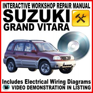 SUZUKI GRAND VITARA   XL7 Workshop Repair Service Manual