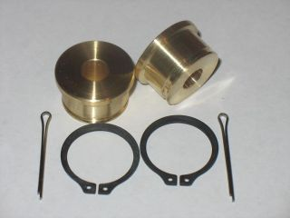 TOYOTA BRASS SHIFTER CABLE BUSHINGS mr2 tercel celica