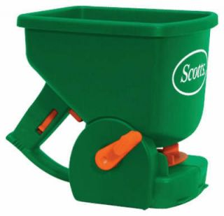 Scotts 71030 Easy Hand Held Broadcast Lawn Fertilizer Grass Seed