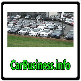 Car Business.info WEB DOMAIN FOR SALE/AUTO DEALER MARKET/SALES/LOT