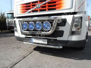 VOLVO FH/FM SERIES 2 & 3 STAINLESS STEEL GRILL LIGHT BAR TRUCK WITH