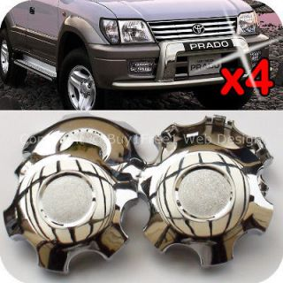 Toyota Land Cruiser Prado FJ90 Alloy Wheel Center Caps Hubcaps Rim