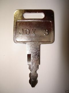JOHN DEERE 200 CLC EXCAVATOR HEAVY EQUIPMENT KEY