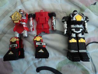 Power Rangers DX Muteki Shogun Kakuranger Megazord Parts Original