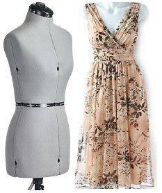 NEW ADJUSTABLE MANNEQUIN DRESSFORM DRESS FORM SEWING pt