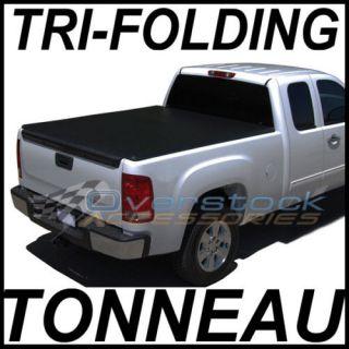 TRI FOLD Tonneau Cover 6.5ft S/B Chevy Silverado/GMC Sierra 2007 2012