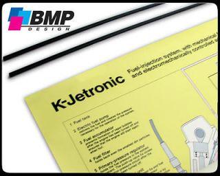 Jetronic Bosch Fuel Injection Chart 1 987 722 601   BMW VW Mercedes
