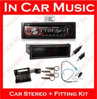 Volkswagen Transporter Pioneer CD Player Radio Aux  USB iPod Car