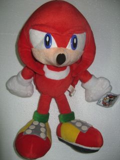 Sega Sonic the Hedgehog X KNUCKLES UFO plush Adventure 2