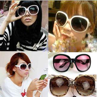 SPRING Fashion Sunglasses Plastic Big Frame Glasses UV 400 Eyewear