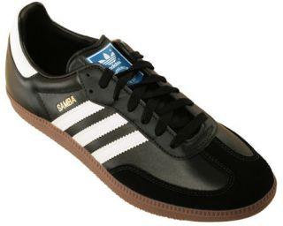 Adidas Originals Samba Classic Indoor Soccer Black White Gum G17100