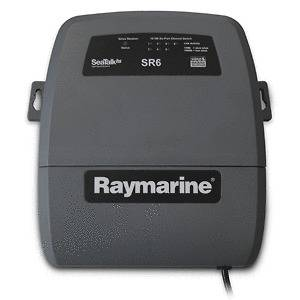 Raymarine SR6 Sirius Marine Weather/SAT Radio Receiver