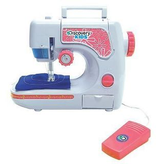 Discovery Kids Chainstitch Sewing Machine Educational & Learning Age 6