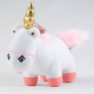 Me Minion Unicorn Figure 5x Plush Toy Stuffed Animal Souvenirs Doll