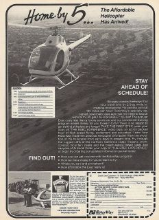 1987 Rotorway Helicopter ad 4/3/12