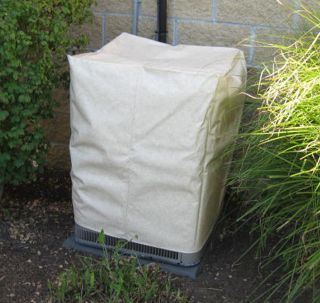 "OUTDOOR AIR CONDITIONER COVER   24"" X 24"" SQUARE   FITS 26"" TO"