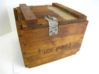 Vintage 15 Wooden Boosters Explosives Ammo Box Birmingham Alabama